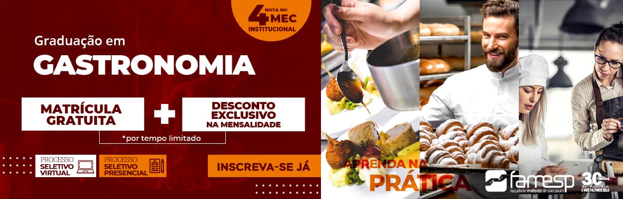 graduacao-gastronomia-presencial-famesp-vestibular