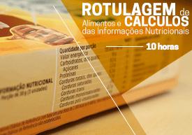 Curso prático de rotulagem de alimentos e cálculos nutricionais