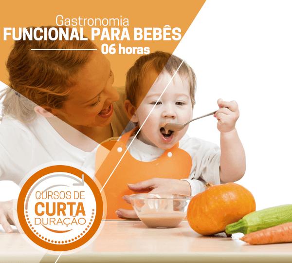 Curso prático de gastronomia funcional para bebês