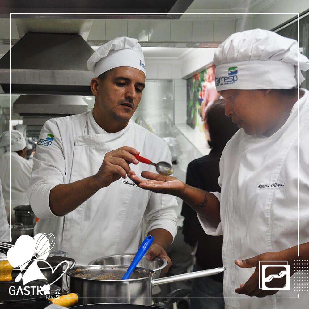 aulas-praticas-curso-gastronomia-jantar-turma-sgnv-famesp